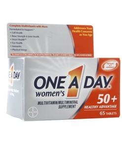 vitamin one a day women 65 viên