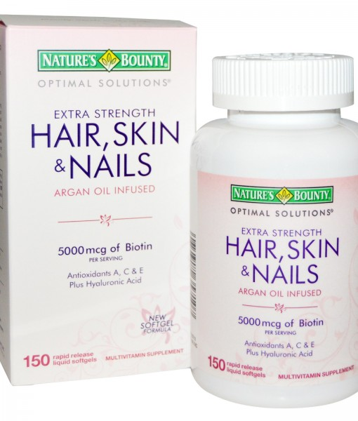 EXTRA STRENGTH HAIR SKIN & NAILS 250 VIÊN