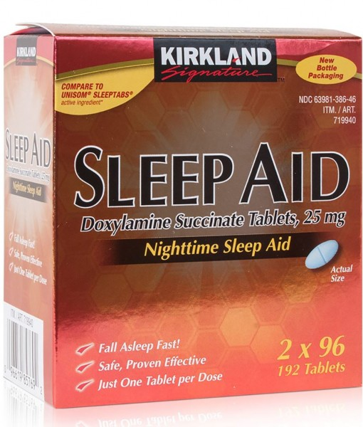 Kirkland Signature Sleep Aid Doxylamine succinate