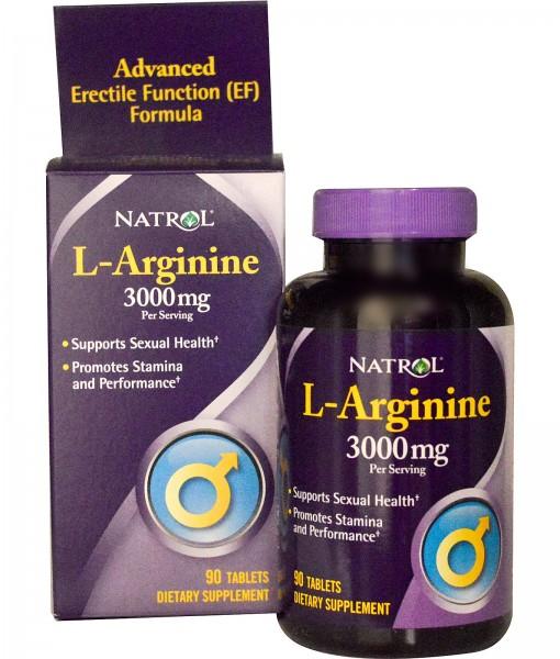 Natrol L-Arginine 3000mg 90 viê 1