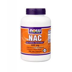 Now Foods Nac-Acetyl Cysteine 600mg