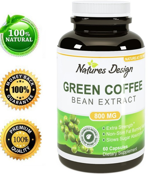 PURE GREEN COFFEE BEAN EXTRACT 60 VIÊN