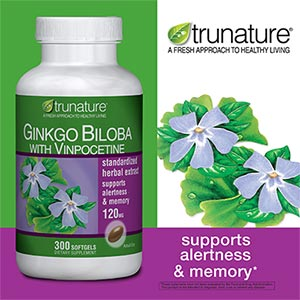 Trunature Ginkgo biloba