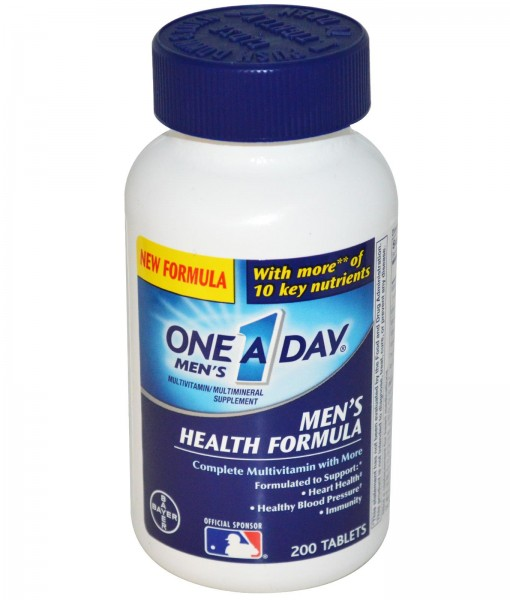 one a day ® men's health formula 200 viên
